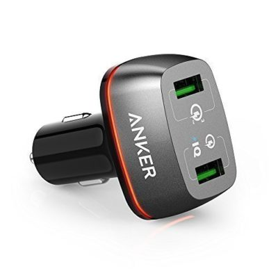 Quick-Charge-30-Anker-42W-2-Port-USB-Car-Charger-PowerDrive-2-with-Quick-Charge-30-and-Quick-Charge-20-with-PowerIQ-for-Galaxy-S7S6S6-Edge-iPhone-iPad-LG-G5-Nexus-HTC-and-More-0