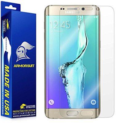 Samsung-Galaxy-S6-Edge-Plus-Screen-Protector-Full-Coverage-Armorsuit-MilitaryShield-w-Lifetime-Replacements-Anti-Bubble-Ultra-HD-Premium-Shield-0