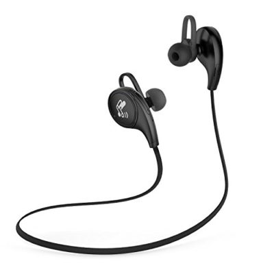 SoundPEATS-Bluetooth-Headphones-Sport-Wireless-Sweat-proof-Earphones-for-Running-with-Mic-5-Hours-Talk-Time-Bluetooth-41-apt-X-CVC-60-Noise-Cancelling-QY8-Black-0