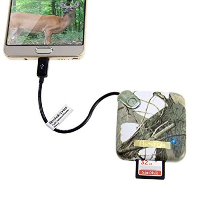 8-in-1-Multi-port-Bestok-Trail-Game-Camera-Viewer-Card-Reader-with-3-USB-Port-for-Android-Phones-Micro-USB-Connector-ReadsWrite-SDHC-MS-TF-M2-Cards-USB-Drive-Storage-Case-Included-0