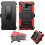 Asmyna-Cell-Phone-Case-for-Kyocera-C6743-Kyocera-C6742-Retail-Packaging-BlackRed-0