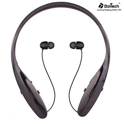 Bluetooth-Headsets-DolTech-BN-960950-Wireless-Neckband-Bluetooth-Headphones-for-SportRunningGymExercise-Lightweight-Sweat-proof-NoiseEarbud-for-Cell-Phones-0