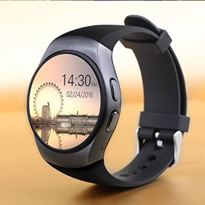 Bluetooth-Smart-Watch-Phone-KW18-Sim-And-TF-Card-Heart-Rate-Reloj-Smartwatch-Wearable-Compatible-For-IOS-Apple-iPhone-5s66sSE-Android-Samsung-HTC-Sony-LG-Smartphones-0