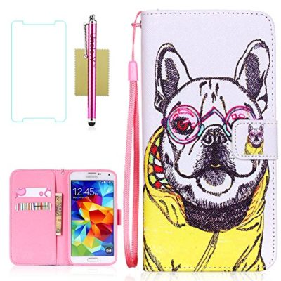 Galaxy-S5-Case-S5-Case-Samsung-Galaxy-S5-Case-UncleY-Wallet-Flip-PU-Leather-Case-Folio-Protector-Cover-Case-with-Card-Holder-and-Strap-Case-for-Samsung-Galaxy-S5-I9600-0