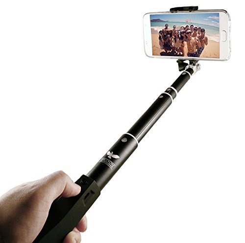 Halcyon-T-Wireless-Selfie-Stick-Pro-Bluetooth-Monopod-for-iPhone-6s-6-5-5s-Samsung-Galaxy-6-6-Edge-HTC-and-GoPro-0