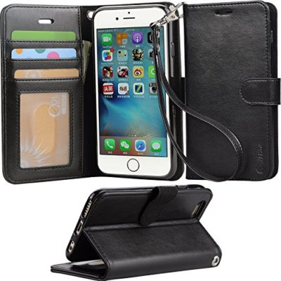 Iphone-6s-Case-iphone-6-case-Arae-Apple-Iphone-6-6s-Wrist-Strap-Flip-Folio-Kickstand-Feature-PU-leather-wallet-case-with-IDCredit-Card-Pockets-0