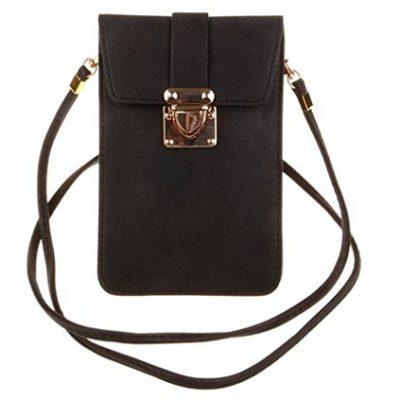 KISS-GOLD-TM-Luxury-Matte-PU-Leather-Mini-Crossbody-Single-Shoulder-Bag-Cellphone-Pouch-0