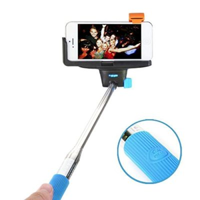 Selfie-Stick-Perfectday-Foldable-Extendable-Bluetooth-Selfie-Stick-with-Built-in-Remote-Shutter-for-iPhone-6s-6-6-Plus-5-5s-5c-0