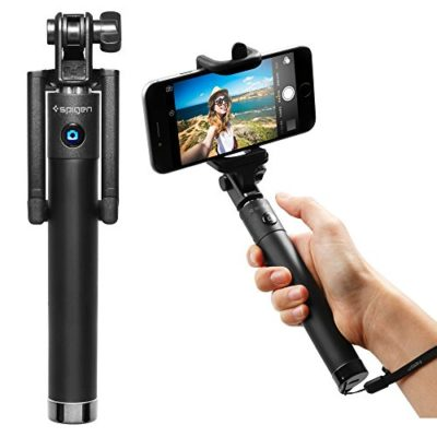 Selfie-Stick-Spigen-New-Generation-Bluetooth-Selfie-Stick-with-Remote-Shutter-for-Nexus-5xNexus-6P-iPhone-SE6S6S-Plus66-Plus5S-Galaxy-S7Galaxy-S7-Edge-LG-G5-More-SGP11721-0