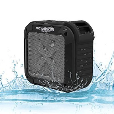 Shower-Radio-Waterproof-Bluetooth-Speaker-Mini-Portable-Shock-Proof-Indoor-Outdoor-iPod-Speaker-Compatible-with-iPhone-Android-and-Samsung-Phones-By-ampmob-gear-0