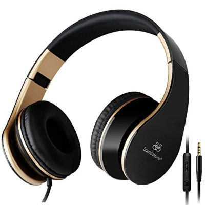 Sound-Intone-Headphones-with-Microphone-and-In-Line-Volume-Control-Perfect-Sound-with-Powerful-Bass-Adjustable-Foldable-Headset-for-Iphone-and-Android-Devices-0