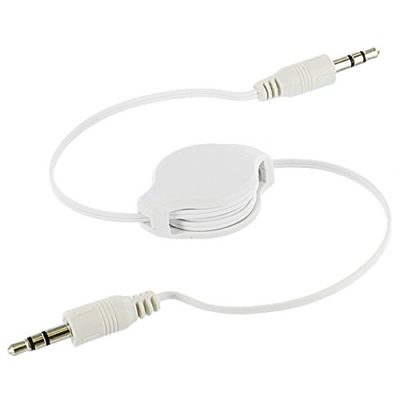 TechSpecTM-Retractable-35mm-Aux-Audio-Extension-Cable-White-for-Cell-Phones-0