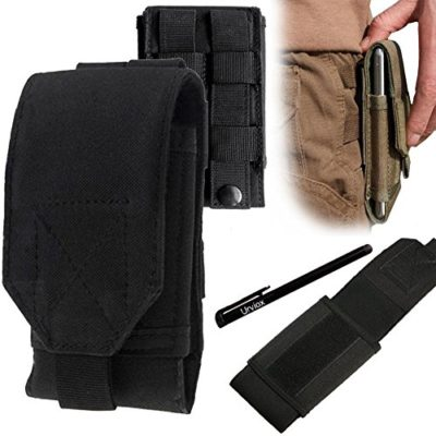 UrvoixTM-Black-Army-Camo-Bag-For-Mobile-Phone-Belt-Pouch-Holster-Cover-Case-Size-L-0