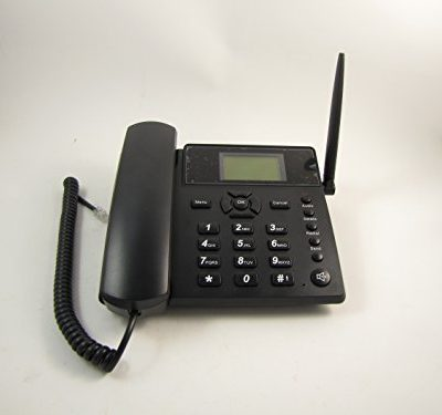 Wireless-GSM-Desk-Desktop-Cell-Phone-Speaker-SMS-SIM-Card-Quadband-0