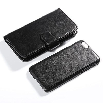 iPhone-6-Case-Lumsing-iPhone-6-47-Wallet-Case-Premium-Soft-PU-Leather-Wallet-Cover-Verizon-ATT-Sprint-T-Mobile-International-and-Unlocked-Wallet-Case-For-Apple-iPhone-6-47-Inch-Black-0