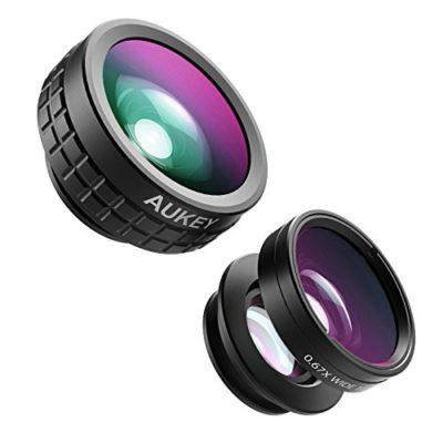 AUKEY-Optic-iPhone-Lens-180-Fisheye-Lens-110-Wide-Angle-10x-Macro-Mini-Clip-on-Cell-Phone-Camera-Lenses-Kit-for-Samsung-Android-Smartphones-0
