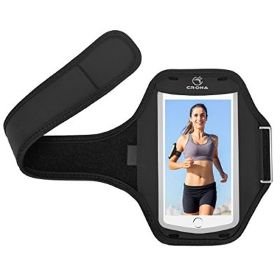 CRONA-Sports-Armband-Exclusive-OUTSIDE-OPEN-Flap-Breathable-Waterproof-Workout-Armband-for-iPhone-6-6s-iPhone-7Plus-etc-up-to-55-Applicable-0