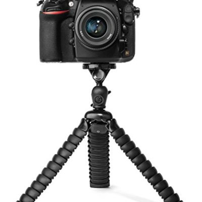 Flexible-Tripod-for-DSLR-Mirrorless-and-SLR-Cameras-by-LOHA-Extra-Large-Size-Supports-Many-Camera-Types-with-Zoom-or-Telephoto-Lens-Ball-Head-and-Level-Bundle-for-framing-the-perfect-shot-0