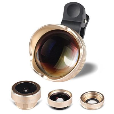 HD-Super-Shoot-Glass-Phone-Lens-4-in-1-180-Fisheye-Lens15X-Macro-lens-065X-100Wide-Angle-Lens-3X-Telephoto-Phone-Camera-Lens-Kit-with-Clips-for-iPhone-6-6S-Plus-Samsung-S6S7-Edge-0