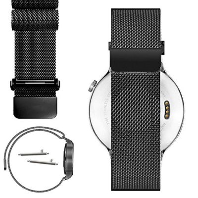 Magnetic-Milanese-Loop-Stainless-Steel-Magnet-Closure-Lock-Band-For-Motorola-Moto-360-1st-Gen-2014-Released-Version-Does-Not-Fit-Moto-360-2nd-Gen-0