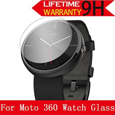 Moto-360-Watch-Glass-Screen-Protector-AnoKe-Lifetime-Warranty03mm-9H-25D-Best-Tempered-Glass-Screen-Protector-Film-Shield-Guard-For-Motorola-Moto-360-Watch-Glass-0