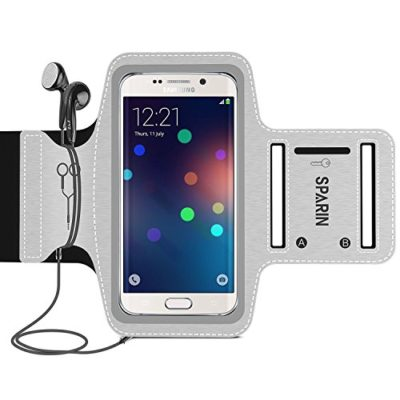 SPARIN-Universal-Sports-Exercise-Armband-for-Samsung-Galaxy-S7-S6-S5-S4-iPhone-7-6s-6-SE-with-Free-Extesion-Band-Water-Resitant-51-Inch-0