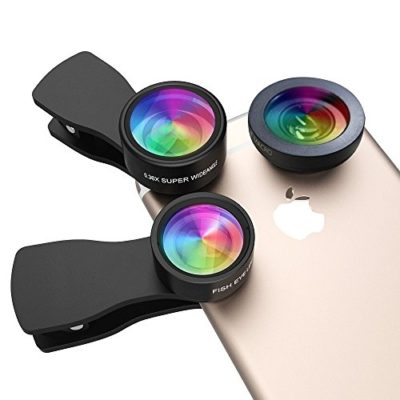 Upgraded-Version-Milocos-07X-Super-Wide-Angle-Lens-12X-Macro-Lens-2-in-1-Professional-HD-Camera-Lens-Kit-Universal-Clip-On-Cell-Phone-Lens-for-iPhoneiPadSamsung-Most-Smartphones-0