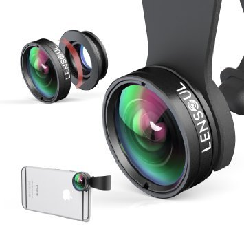 iPhone-Lens-LENSOUL-Fisheye-Wide-Angle-Macro-Lens-3-in-1-Clip-on-Cell-Phone-Camera-Lens-Lens-Kit-for-iPhone-Samsung-Android-Smartphones-Tablets-0