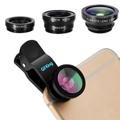 iPhone-Lensby-GFKing3-in-1-Clip-On-180-Degree-Fish-Eye-Lens067X-Wide-Angle10X-Macro-LensUniversal-HD-Camera-Lens-Kit-for-iPhone-6s6s-Plus6SE55sSamsungBlackberryMobile-Phone-0