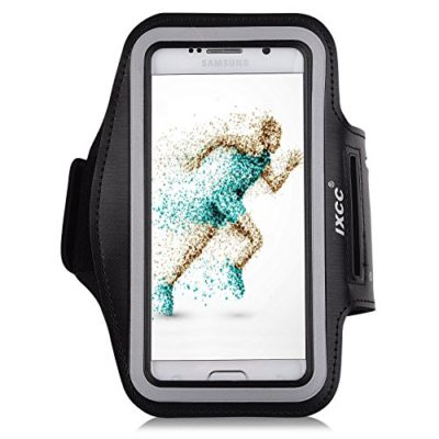 iXCC-Trek-Series-Easy-Fitting-Sport-Gym-Running-Armband-with-Dual-Arm-Size-Slots-for-Samsung-Galaxy-S6-MP3-Player-Black-0