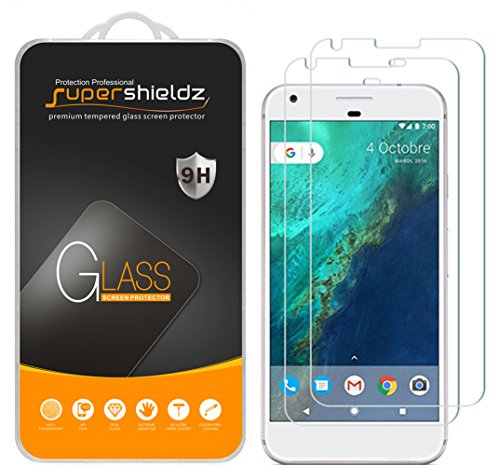 2-Pack-Google-Pixel-Tempered-Glass-Screen-Protector-Supershieldz-Anti-Scratch-Anti-Fingerprint-Bubble-Free-Lifetime-Replacement-Warranty-0