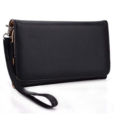 Alcatel-One-Touch-Fierce-XL-Phone-wristlet-case-with-ID-and-Card-Holder-0