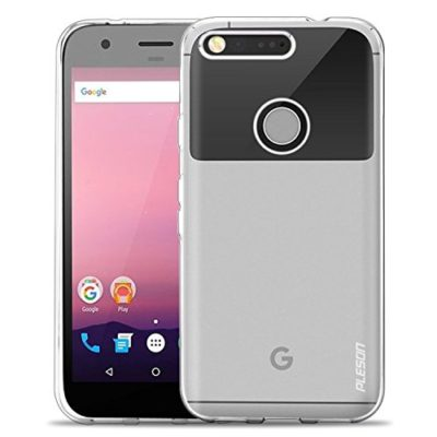 Google-Pixel-Case-PLESON-Tou-Google-Pixel-Case-Cover-Ultra-Thin-Crystal-Clear-Case-Lightweight-Anti-slip-No-Bulkiness-Clear-back-panelSoft-TPU-Protective-transparent-case-for-Google-Pixel-2016-0