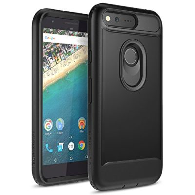Google-Pixel-Case-YOUMAKER-Full-body-Rugged-Belt-Clip-Holster-Case-with-Built-in-Screen-Protector-for-Google-Pixel-50-inch-2016-Release-0
