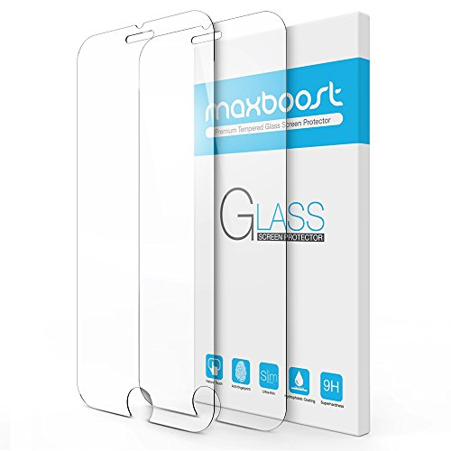 Maxboost-Tempered-Glass-Screen-Protector-for-iPhone-7-6-6s-02mm-Screen-Protection-Case-Fit-99-Touch-Accurate-0
