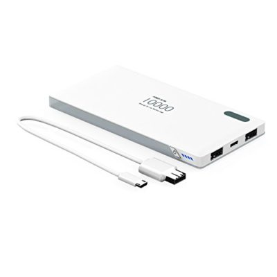 Portable-Charger-Phone-Charger-Power-Bank-10000mAh-Wotmic-Battery-Pack-External-Battery-Charger-Two-Outputs-Fast-Charging-Lightweight-Battery-White-0