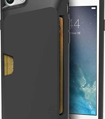 Silk-iPhone-7-Wallet-Case-Vault-Slim-Wallet-for-iPhone-7-Protective-Grip-Card-Case-Gunmetal-Gray-0