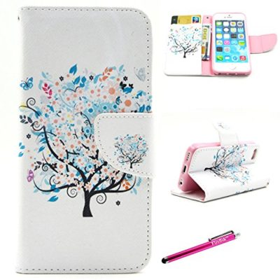 iPhone-5-Case5S-SE-Firefish-Kickstand-Card-Slots-Slim-Flip-PU-Leather-Wallet-Shock-Absorption-Scratch-Resistant-Protect-for-Apple-iPhone-55SSE-0