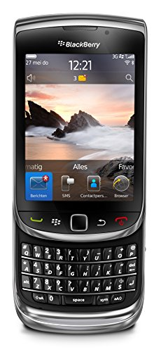 Blackberry 9800 Torch Unlocked Slider Qwerty Touch Screen 5 Mega Pixel Wifi  Gps Color : Black