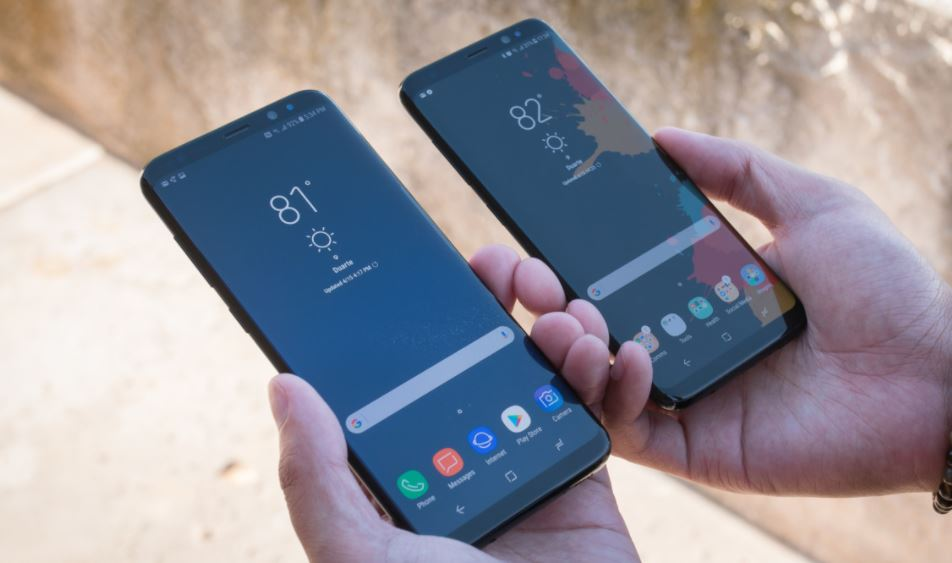 Celular Samsung Galaxy S8 y S8 Plus Bixby