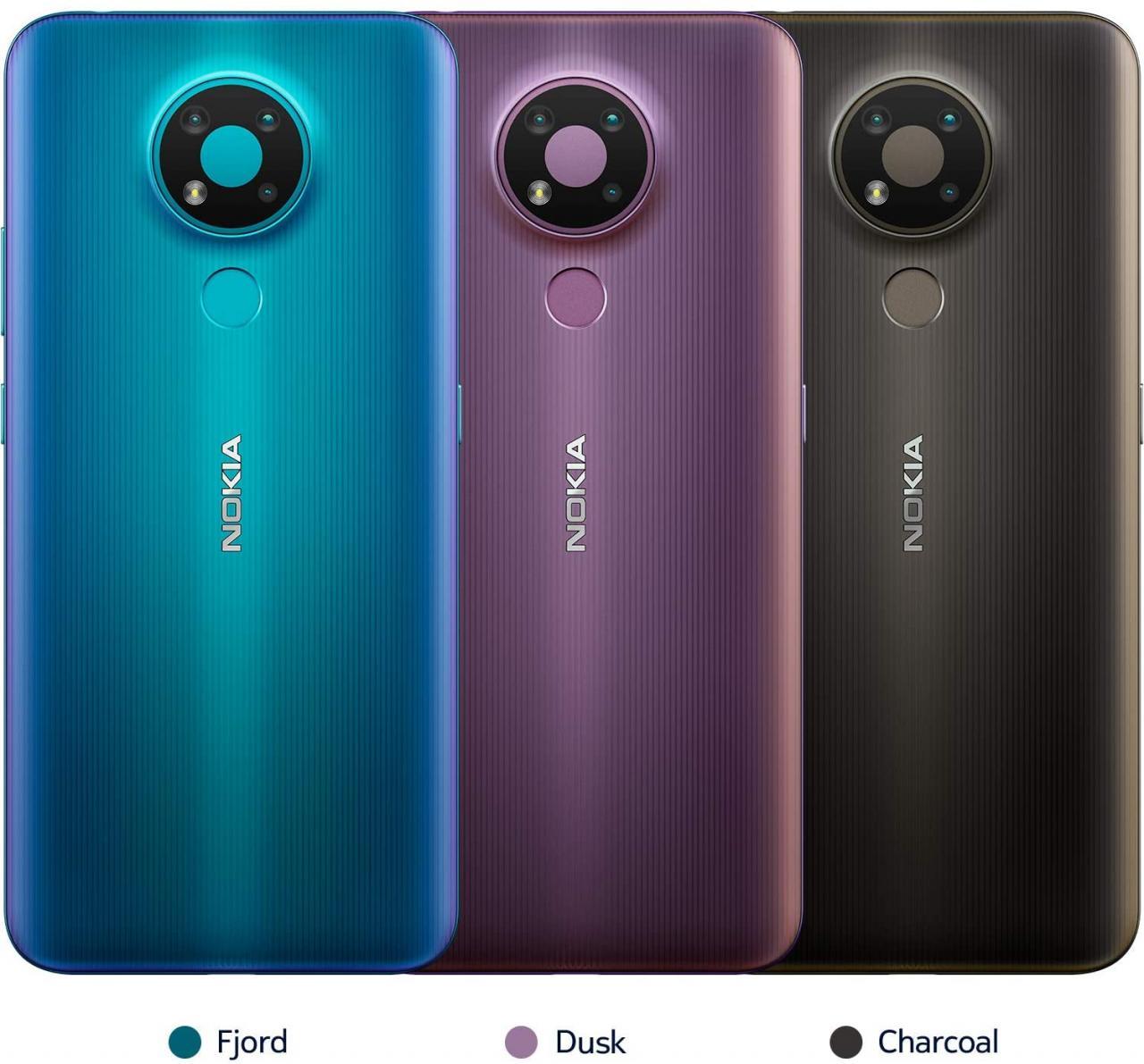 Nokia 3.4 colores y diseños