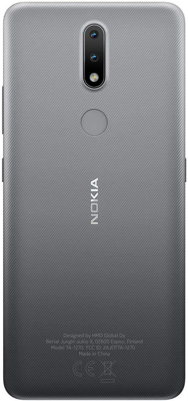 Nokia 2.4 gris plata