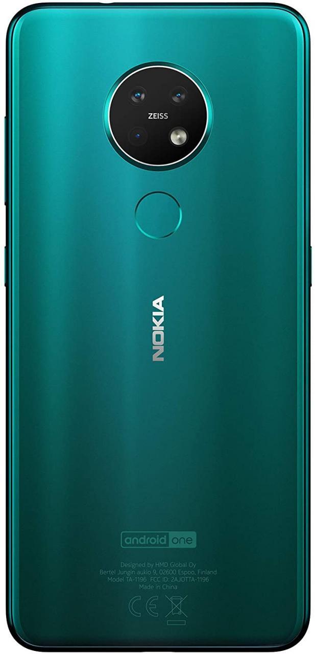 # 3 Nokia 7.2 turquesa