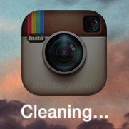 """El nombre de la aplicación iOS dice """"Limpieza"""""""