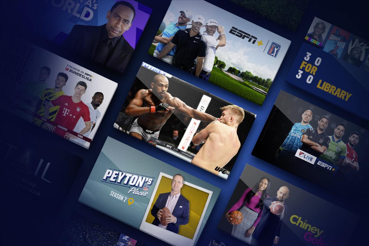 Programas de ESPN Plus