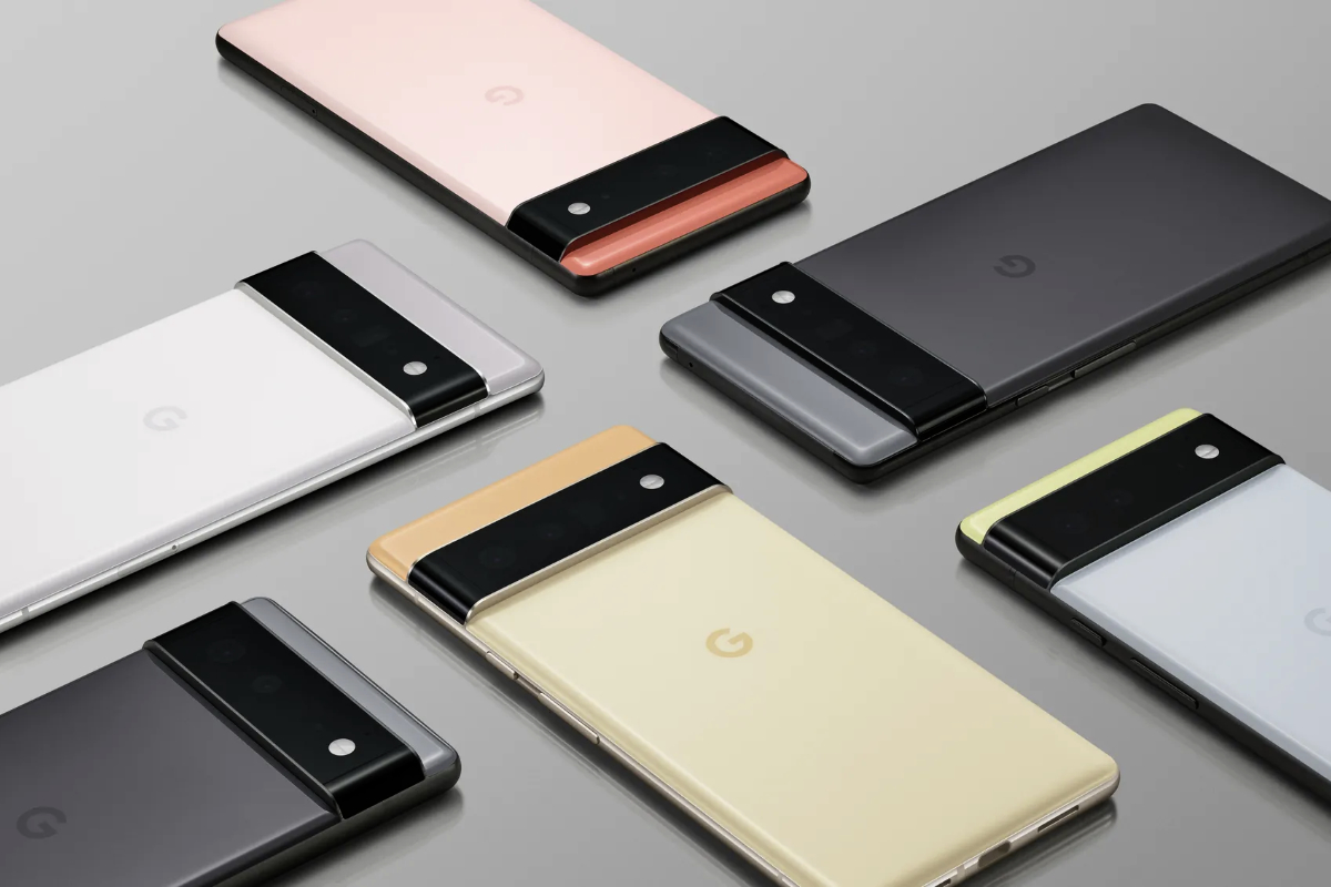 Google Pixel 6 Lineup Official Images From Google